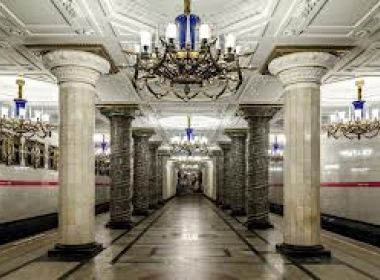 Подземните шедьоври. 10-те най- красиви станции на петербургското метро