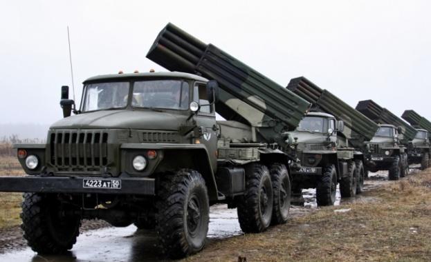 """HRW: Киев е използвал """"Торнадо"""" и """"Ураган"""" в Донбас"""