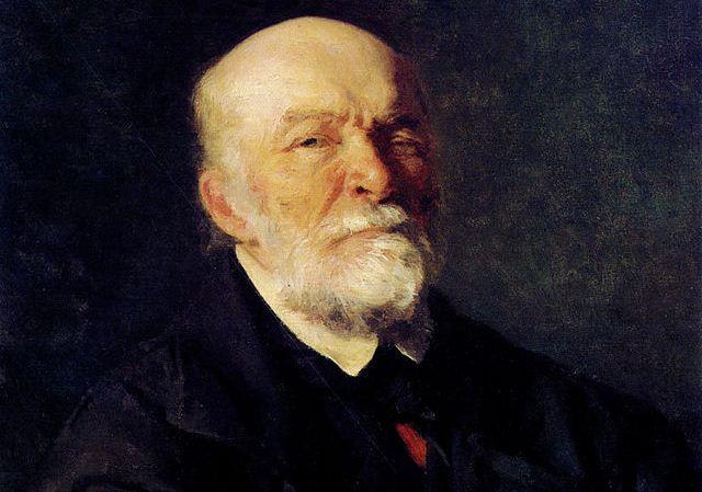 Николай Иванович Пирогов руски учен и хирург (портрет от Иля Репин /1881/)