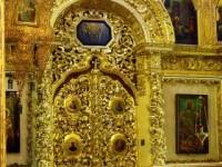 Царската врата на Успенския събор