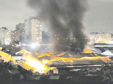 Мощен взрив в Киев