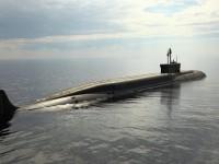 """Крайцерът """"Владимир Мономах"""" пристигна в базата на подводните сили на Северния флот"""