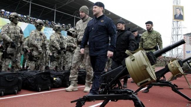 10 хил. чеченски бойци подадоха рапорти да воюват извън Русия