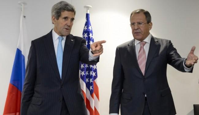 Лавров и Кери обсъдиха ситуацията в Донбас