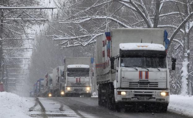 В Луганск пристигна хуманитарна помощ от московския Червен кръст