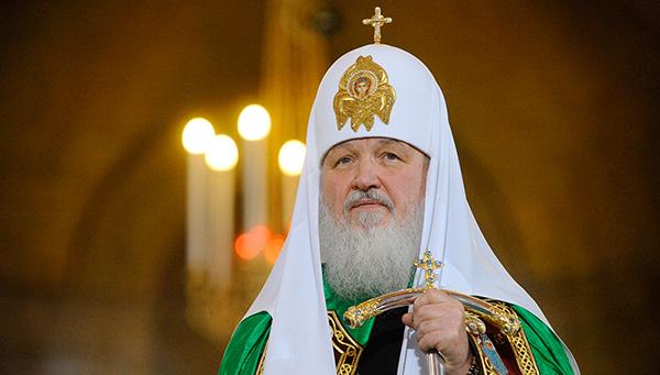 Патриарх Кирил се помоли за мир