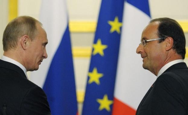 Путин и Оланд ще се срещнат в Москва