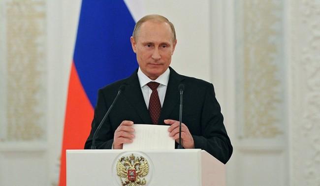 Путин призова да се избягва латинизирането на руски език