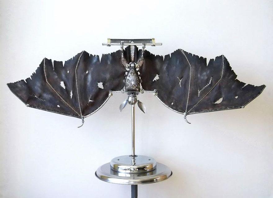Руски художник създава стиймпънк скулптури4