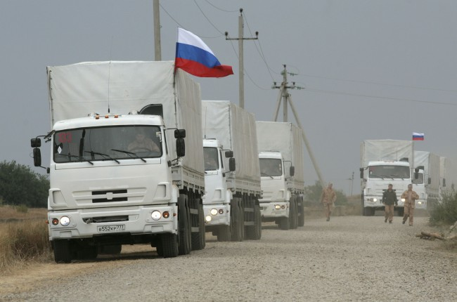 Поредният хуманитарен конвой от Русия тръгна за Украйна