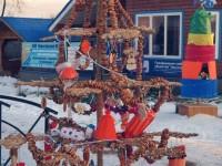 В Русия направиха елха от тесто
