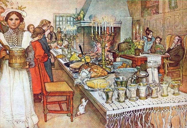 Коледа и Нова година в дореволюционен Петербург