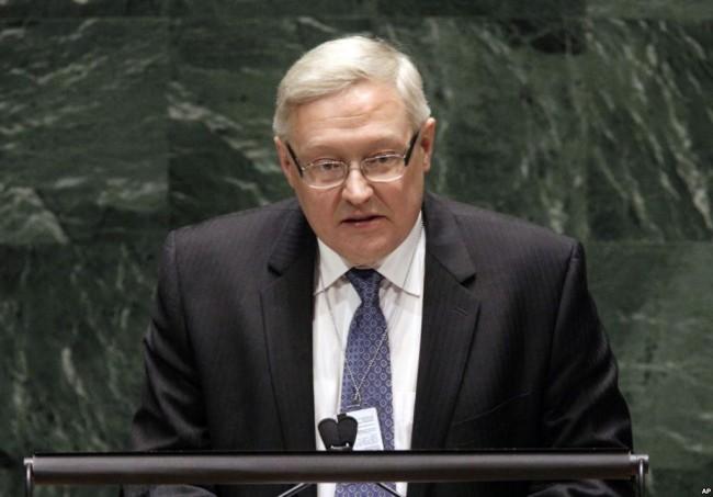 Сергей Рябков обвини САЩ в опит за сваляне на президента Путин