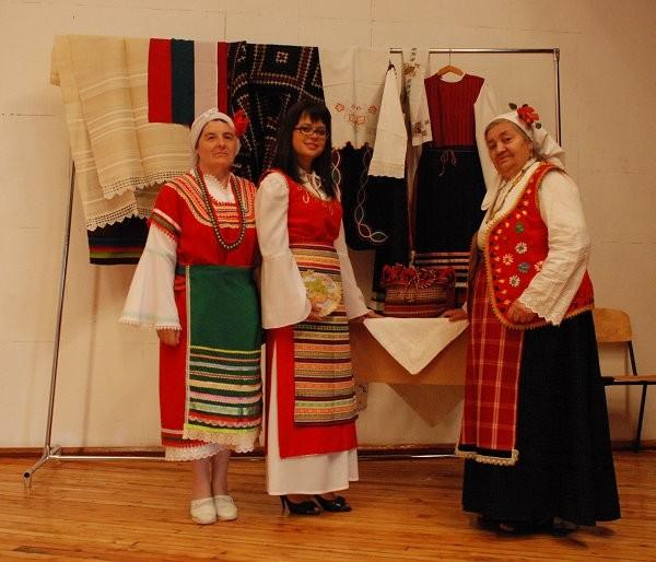 Етнографския музей в Симферопол. Представяне на историята на българите в Крим.