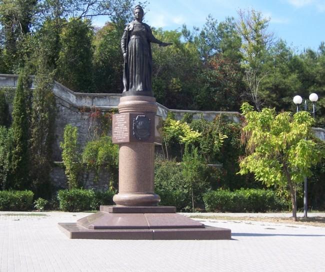 Паметник на Екатерина Втора в град Севастопол, Крим