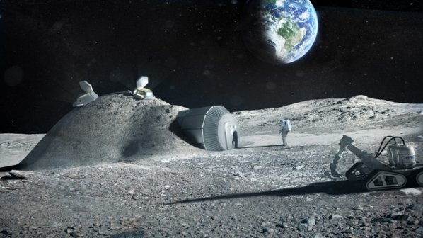 Русия ще строи космическа станция в лунната орбита
