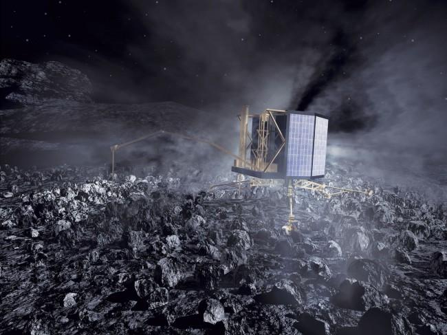 Кометата Чурюмов-Герасименко е като LEGO