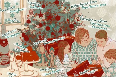 Нова година на масата: от мандарини до…