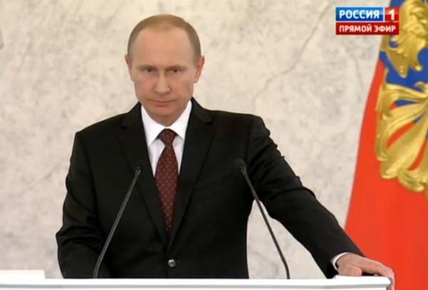 Путин не е съгласен с твърдението, че Русия е «притисната» от всички страни