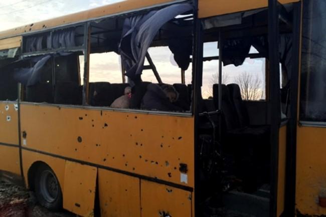 Москва изрази възмущение във връзка с обстрела на автобуса в Донецк