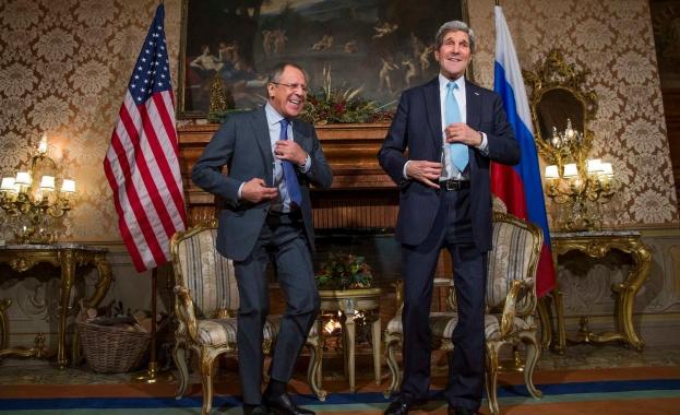 Руските медии съобщават за визита на Кери в Москва