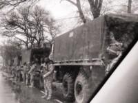 В Одеса се провежда антитерористична операция. Военни от Националната гвардия пристигнаха в града