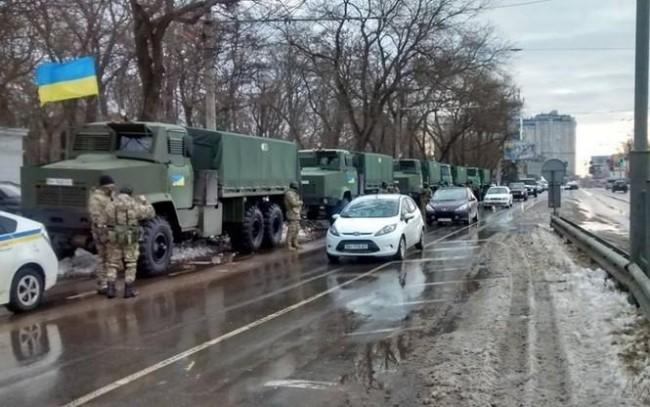 Националната гвардия ще въдворява ред в Одеса