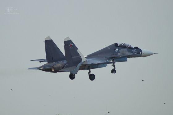 Су-30 постъпиха в морската авиация на ЧФ на Русия