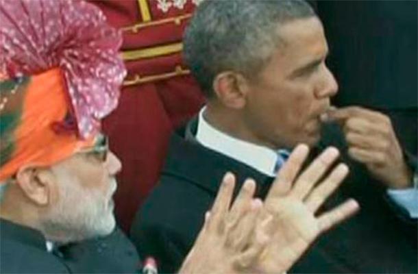 Индийците в шок от поведението на Обама
