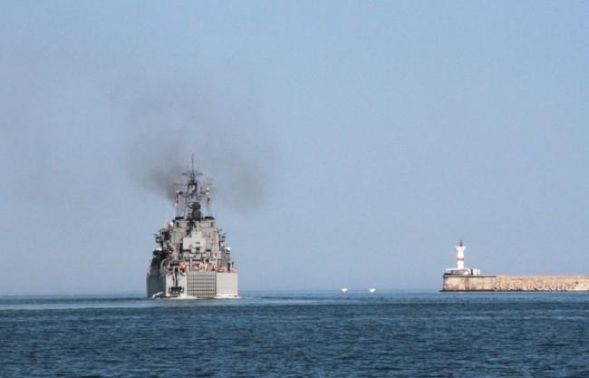"Завършиха плановия ремонт на големия десантен кораб ""Цезарь Куников"""