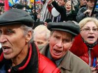 В Киев протестираха срещу ЕС