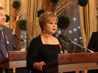 Елена Гагарина и Владимир Урин получиха Орден на почетния легион