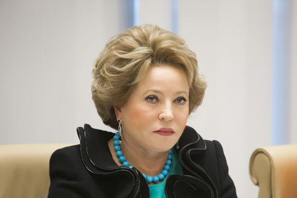 Валентина Матвиенко: Киев демонстрира слабост