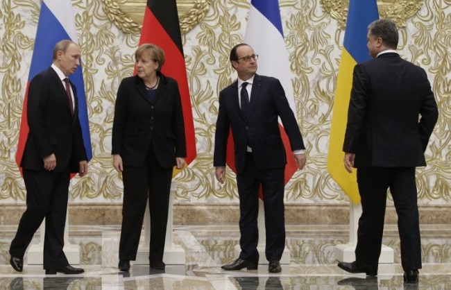 """Подготовка за нова среща на """"Нормандската четворка"""""""