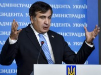 "Саакашвили нарече Русия ""крокодил"""