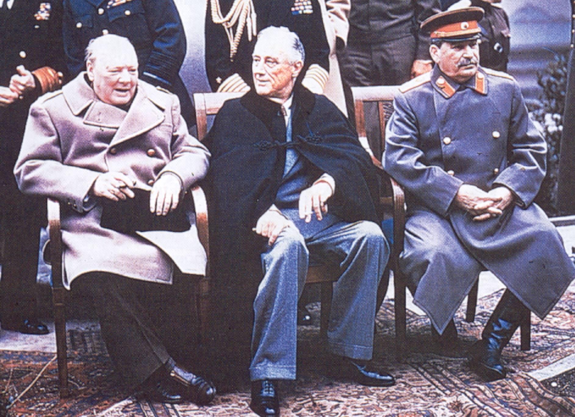 Сталин, Рузвелт, Чърчил