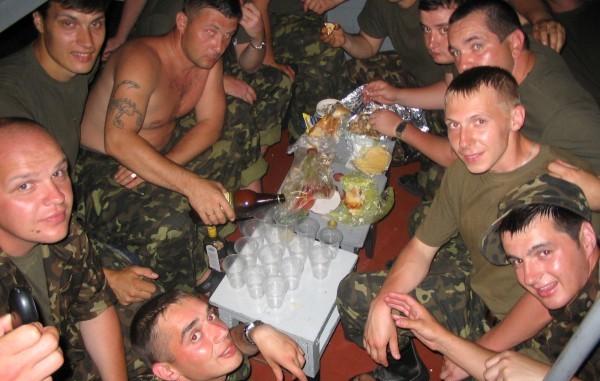 пияни украински войници
