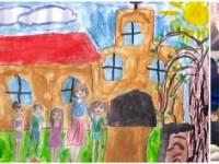 """Шести международен конкурс  за детска рисунка  """"ОБИЧАМ МОЯТА РОДИНА"""" – гласуване за II кръг"""