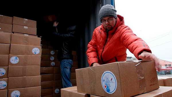 В ДНР пристигна хуманитарна помощ от Германия