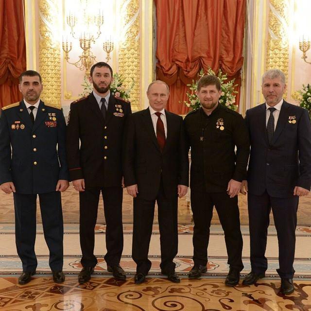 Путин Кадиров