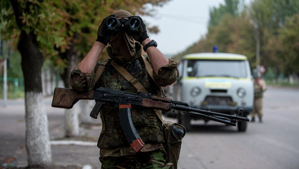 Украински военни поругаха манастир край Донецк