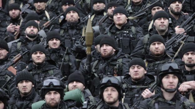 чеченски командоси