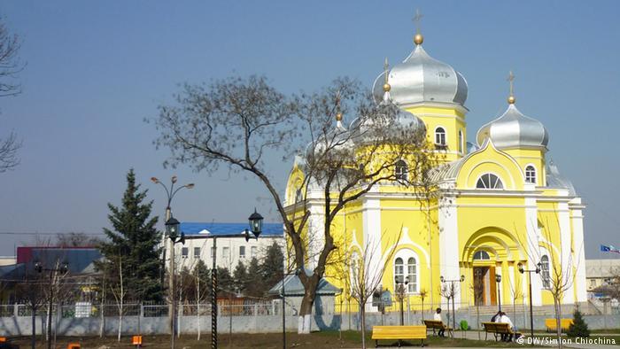 Катедралата в столицата на Гагаузия Комрат