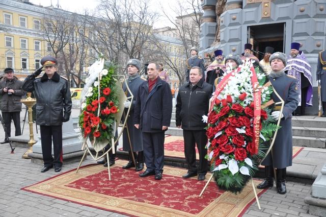 Тържествена церемония по повод националния празник на България и 137 години от Освобождението от османско иго беше организирана от българското посолство в Москва.