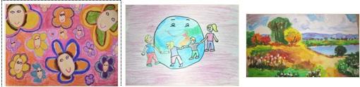 """Шести международен конкурс  за детска рисунка  """"ОБИЧАМ СВОЯТА РОДИНА"""" – гласуване за IV кръг"""