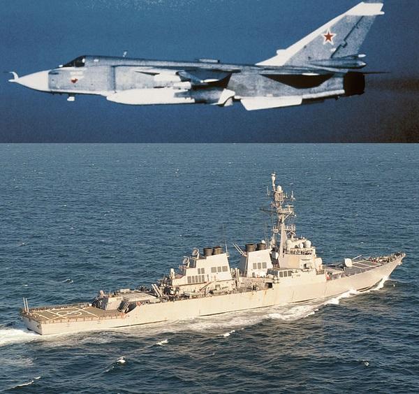 """Американския """"Доналд Кук"""" в Черно море наистина се е уплашил от руския """"Бастион"""""""