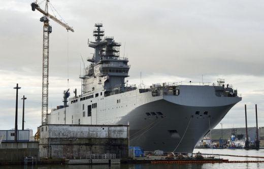"""Русия сама ще си построи корабите клас """"Мистрал"""""""