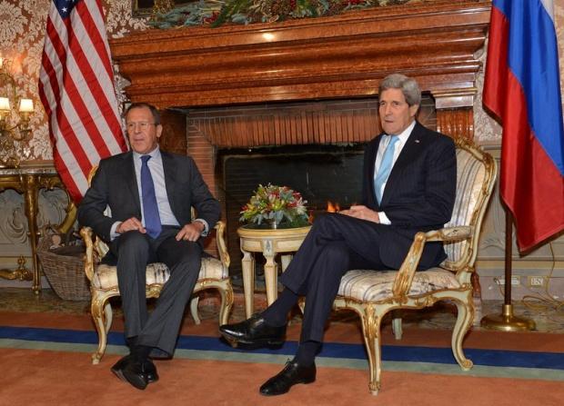 Сергей Лавров и Джон Кери разговаряха за Украйна и Сирия