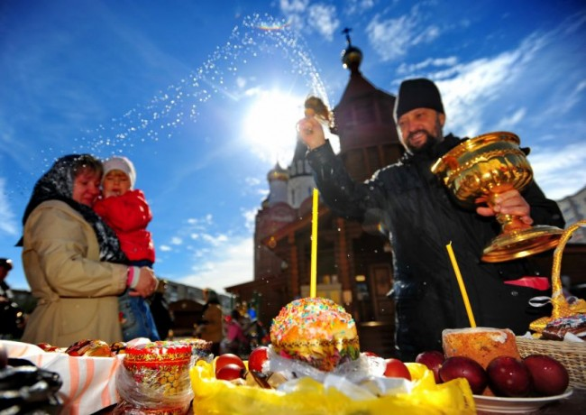 Православна Русия се готви да посрещне Великден