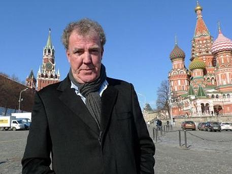 Джеръми Кларксън вече е в Москва